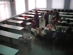 Crazy students have sex in class porn tube video