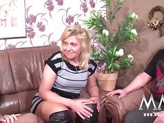 MMV FILMS Creampie for Mature German tube porn video