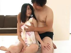 Palpitating Asian ladies with a long silky hair get nailed missionary in a bdsm