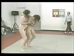 Catfight, Catfight, Hairy, Mature, MILF, Wrestling