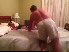 Bed, Bed, Big Tits, Blowjob, Brunette, Girlfriend