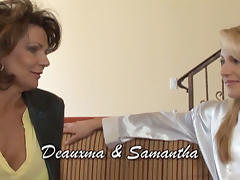Deauxma & Samantha Ryan in Lesbian Seductions #11, Scene #01 tube porn video