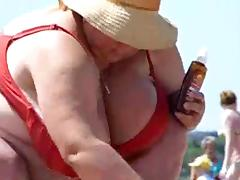 Chubby, Amateur, BBW, Beach, Big Tits, Boobs