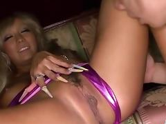 Dirty gangbang porn play along busty Rina Aina