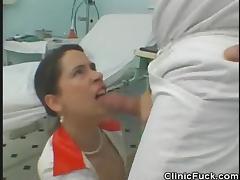 Fucking the Nurse Inside The Clinic tube porn video