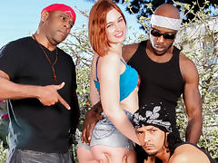 Jodi Taylor & Dsnoop & Wesley Pipes & Mark Anthony in Jodi Taylor Unleashed, Scene #01 tube porn video