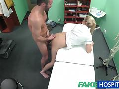 FakeHospital Handy man gets to fuck nurse