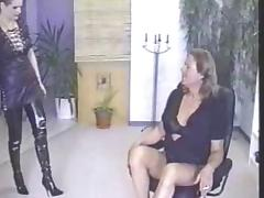 Vintage Crossdresser Strapon Stuffed tube porn video