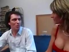 Hot business mother acquires drilled in the office.