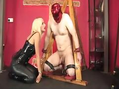 ballbusting and facefucked from mistress tube porn video