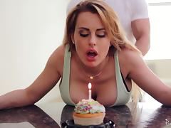 Birthday, Big Tits, Birthday, Boobs, Couple, Fucking