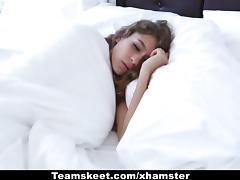 CFNMTeens - Quick Morning Fuck With Her Step-brother