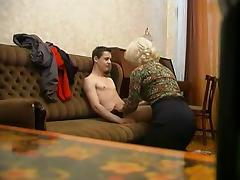 Mother, Amateur, German, Mature, Old, Mother