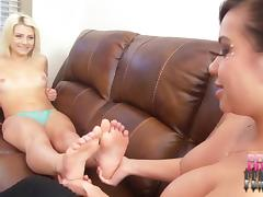Kimmy Lee Foot Obsession with Aubrey Gold