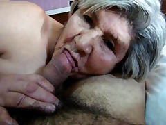 More 79 Year Old Granny Sucking