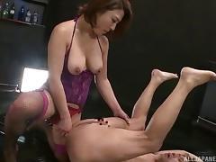 Japanese Teen, Asian, Ass, Couple, Femdom, Fetish