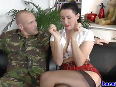Stockings milf bound and gagged during anal tube porn video