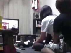 Nerdy japanese girl couple homemade sextape tube porn video