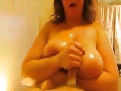 Non-Professional mother I'd like to fuck with giant knockers boobjob
