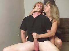 Mom, Handjob, Mature, Mom, Mother, Stepmom