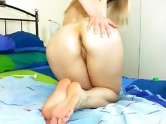 Blonde, Amateur, Blonde, Masturbation, Solo, Toys