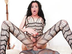 Chad Diamond, Penny Tyler in Tranny Hoes In Pantyhose tube porn video