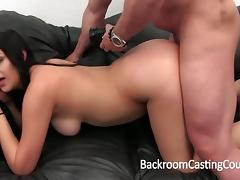 Mexican Babysitter Anal and Creampie Casting