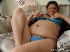 Pregnant Latina woman is horny and she needs a hardcore dicking