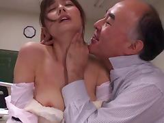 Hubby must watch as a group of men fuck his Japanese submissive wife tube porn video