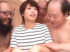 Mom and Boy, Asian, Foursome, Fucking, Hardcore, Japanese