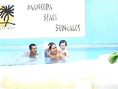 Couple on a holiday to mancora beach bungalos makes a sextape tube porn video