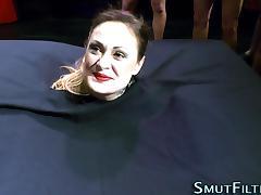 European skank bukkaked porn tube video