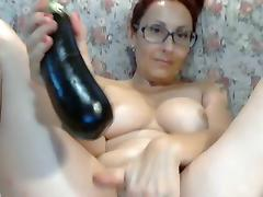 All, Masturbation, Redhead, Solo, Toys, Webcam
