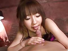 Amateur babe drools over this hard cock