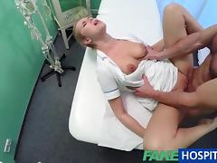 FakeHospital Sexy nurse creampied by doctor