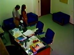 arab dad in office