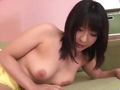 Megumi Haruka, busty beauty, adores sucking cock porn tube video