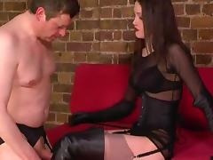 Boot boy and smoking boot lady porn tube video