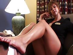 Hotel Footjob tube porn video