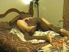Cuckold tapes his dirty talking wife getting blacked