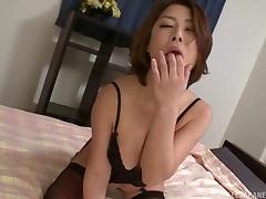 Ravishing Asian Pure toying her hairy twat in a close shoot