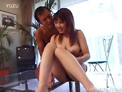 Hot Asian milf gets loads of cum on her amazing body porn tube video