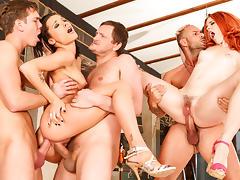 Nikita Bellucci, Amarna Miller, Yanick Shaft in Rocco's Perfect Slaves #06, Scene #03
