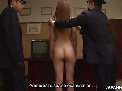 Asian, Asian, BDSM, Humiliation, Jail, Nude