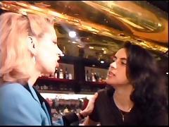 Bushy Lesbian Anal Play porn tube video