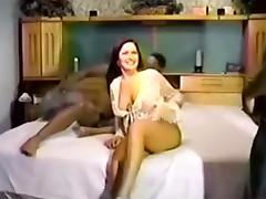 My wife enjoys interracial gangbang sex with four black studs