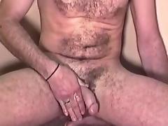 Amateur Mature Man Mike Jacks Off and Cums porn tube video