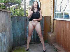 1fuckdatecom Smoke break flasher porn tube video