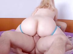 Hot cowgirl blond wife porn tube video