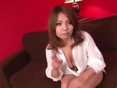 Voluptuous, Kanna Itou, goes wild on a stiff dong porn tube video